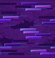 old brick wall texture seamless neon brick stones vector image