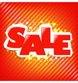 Sale Poster Background vector image vector image