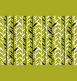 simple flat tropical bamboo pattern vector image vector image
