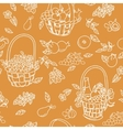 Summer seamless pattern bakground vector image vector image