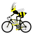 wasp sport vector image