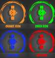 watches icon symbol Fashionable modern style In vector image