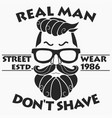 hipster t-shirt design retro style vector image