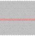 trendy simple seamless beauty many zig zag pattern vector image