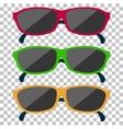 Classic Glasses Icon Sunglasses vector image vector image
