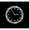 Diamond Clock vector image