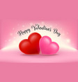 happy valentines day background design wallpaper vector image vector image