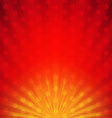 Red Sunburst Card vector image vector image