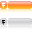Road arrows square button vector image vector image