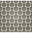 seamless floral background Lace pattern vector image