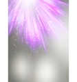 Abstract magic violet light background EPS 10 vector image vector image