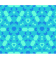blue cyan green color abstract geometric seamless vector image vector image