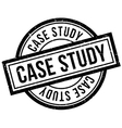 Case Study rubber stamp vector image