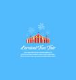 collection design amusement park theme vector image vector image
