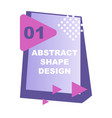 creative abstract design decorated background vector image vector image