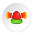 Flasher icon cartoon style vector image vector image