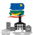Guiana vector image vector image