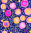 Hand paint watercolor floral seamless pattern