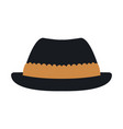 hat for men in switzerland culture clothes vector image