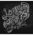 lettering White letters written on a white vector image vector image