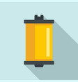 photo camera film icon flat style vector image vector image