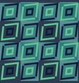 turquoise ethnic geometric pattern vector image vector image