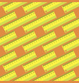 yellow wooden ruler seamless pattern vector image vector image