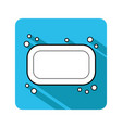 soap flat icon of hygiene and beauty products vector image