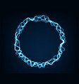 abstract background round electric light spark vector image