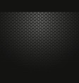 black perforated metallic background vector image vector image