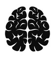 brain neurons icon simple style vector image