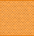 brick wall background yellow orange brown colors vector image