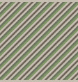 green brown striped seamless pattern vector image vector image