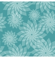 Simple Seamless Pattern with Flowers vector image vector image