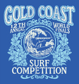 Vintage Surfing Tshirt Graphic Design
