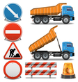 Road Construction Icons set 2