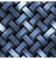 Abstract card computer pattern on green matrix vector image