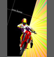 abstract background with motorcycle image