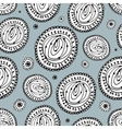 Abstract circle seamless pattern for your design vector image vector image