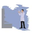 chemist vector image