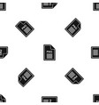 file png pattern seamless black vector image vector image
