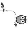 OWL FAT vector image vector image