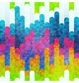 rainbow stripes seamless pattern vector image vector image