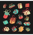Symbol Gift Set vector image vector image
