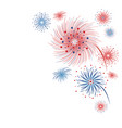 firework design isolated on white background for vector image