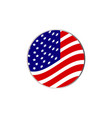 abstract flag icon vector image