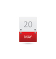 Date Icon vector image