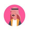 arabic man profile avatar icon arab businessman