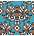 damask floral vintage seamless design vector image vector image
