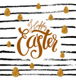 happy easter colored fun backgroun vector image vector image